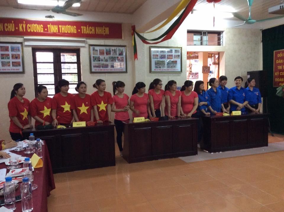 Đoàn thanh niên tổ chức Kỷ niệm ngày thành lập Đoàn TNCSHCM 26/3